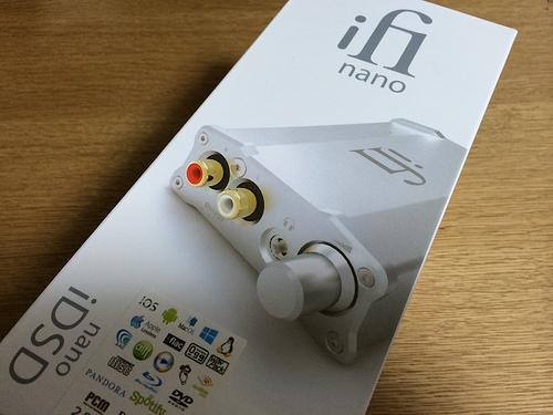 nano iDSD攻略記!「開封編」