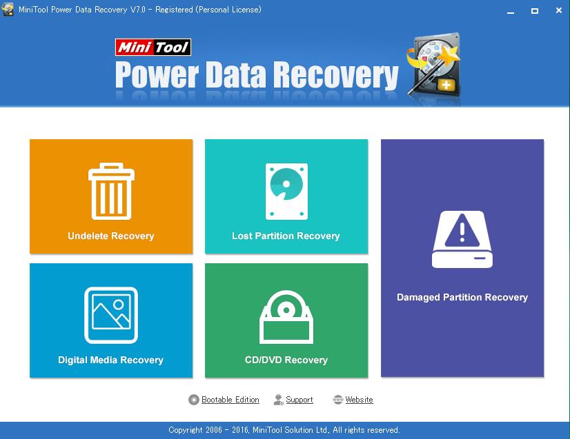 間違えて削除したデータ、壊れたパーティションを復旧!「MiniTool Power Data Recovery」レビュー