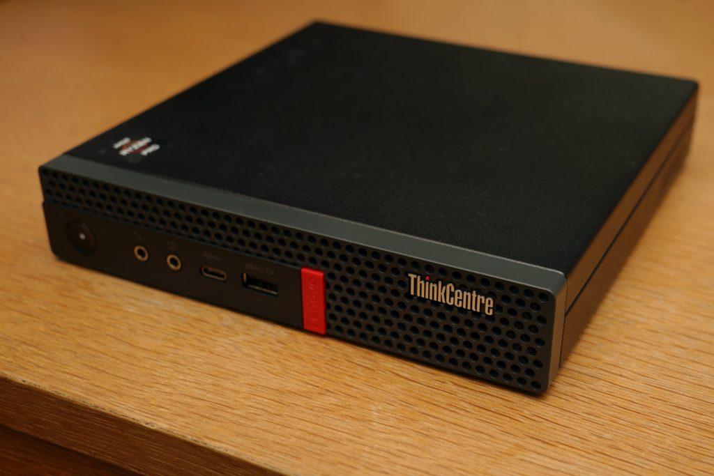 ThinkCentre M75q-1 Tinyが到着。納期と各種ベンチマークについて