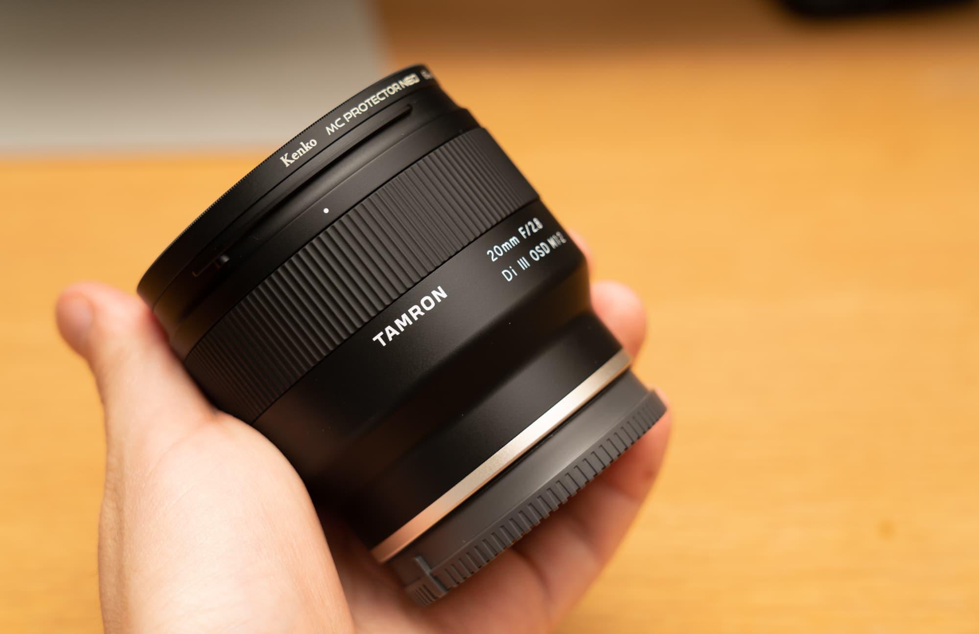 【レビュー】ハーフマクロ広角単焦点レンズ「TAMRON F050 20mm F2.8」を購入しました