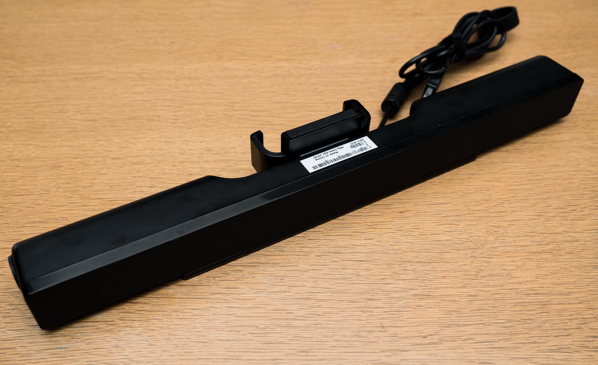 【レビュー】Dell ステレオサウンドバー AC511Mは見た目は良いが……