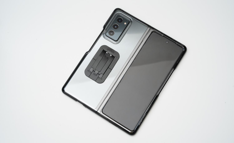 Galaxy Z Fold2 5G用に購入したアクセサリ類まとめ【goBelt・Spigen・Qi】